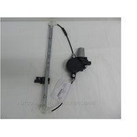 MAZDA 3 BL - 4/2009 to 11/2013 - 4DR SEDAN - LEFT SIDE REAR DOOR WINDOW REGULATOR - ELECTRIC