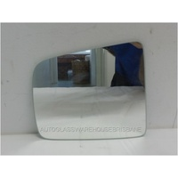 FORD COURIER PE/PG/PH - 1/1999 to 11/2006 - UTE - LEFT SIDE MIRROR - FLAT GLASS ONLY (171 wide X 151 high)