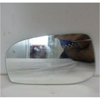 VOLVO XC70 T5 - YV1L - 1/2003 to 12/2007 - 5DR WAGON - PASSENGERS - LEFT SIDE MIRROR - FLAT GLASS ONLY - 165W X 99H