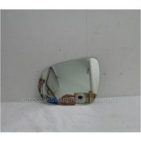 KIA SORENTO UM - 6/2015 TO CURRENT - 5DR WAGON - PASSENGERS - LEFT SIDE MIRROR - FLAT GLASS ONLY - 140MM X 181MM