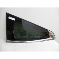 MITSUBISHI PAJERO SPORT QE - 10/2015 TO CURRENT - 5DR WAGON - LEFT SIDE REAR CARGO GLASS (ORIGINAL PART) - PRIVACY TINT