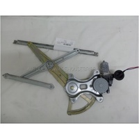 TOYOTA HILUX ZN210 - 3/2005 to 2015 - UTE - LEFT SIDE FRONT WINDOW REGULATOR - ELECTRIC