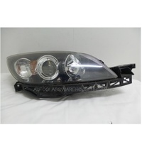 MAZDA 3 BK - 1/2004 to 12/2008 - 4DR SEDAN/5DR HATCH - RIGHT SIDE HEADLIGHT