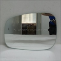 SUZUKI SWIFT RS415 - 1/2005 to 12/2010 - 5DR HATCH - LEFT SIDE MIRROR - FLAT MIRROR GLASS ONLY (164mm X 120mm - BACKING 565105)