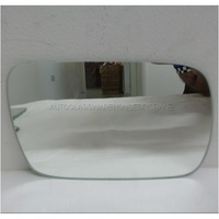 SUBARU LIBERTY/OUTBACK 3RD GEN - 10/1998 TO 8/2003 - 5DR WAGON - RIGHT SIDE MIRROR - FLAT GLASS ONLY (183w X 119h)