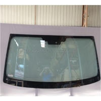 IVECO DAILY - 5/2015 to CURRENT - VAN - FRONT WINDSCREEN GLASS - GREEN - ANTENNA, COVER PLATE, CAMERA, TOP MOULD