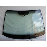 VOLKSWAGEN GOLF VII - 4/2013 TO CURRENT - 5DR HATCH - FRONT WINDSCREEN GLASS - RAIN/LIGHT SENSOR, ACOUSTIC, TOP MOULD & RETAINER