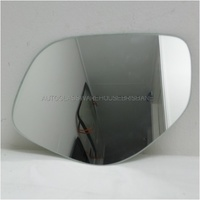 MITSUBISHI OUTLANDER ZJ/ZK - 11/2012 to CURRENT - 5DR WAGON - LEFT SIDE MIRROR - FLAT MIRROR GLASS ONLY (190w x 150h) - NEW