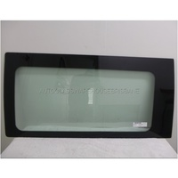 MERCEDES VITO 639 - 5/2004 to 1/2011 - VAN - LEFT SIDE SLIDING DOOR GLASS - (GLUE IN) - GREEN - 1100 X 545mm