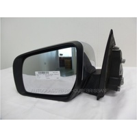 FORD RANGER PX - PT - 10/2011 to CURRENT - UTILITY - LEFT SIDE MIRROR - WITH INDICATOR - MELTED IN BLACK CHROME DENTS