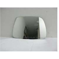 GREAT WALL V240 K2 - 7/2009 to 12/2014 - 4DR UTE - DRIVERS - RIGHT SIDE MIRROR - FLAT GLASS ONLY - 153MM HIGH X 205MM WIDE