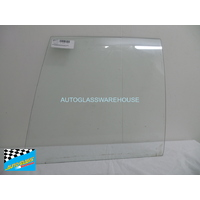 HOLDEN COMMODORE VB/VL - 11/1978 to /1988 - 4DR SEDAN - LEFT SIDE REAR DOOR GLASS - CLEAR