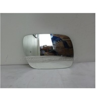 VOLKSWAGEN TOUAREG 4WD - 7/2003 to 12/2011 - 5DR WAGON - RIGHT SIDE MIRROR - FLAT GLASS ONLY - 200mm WIDE X 144mm HIGH