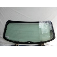 AUDI A3 8V - 5/2013 to CURRENT - 5DR HATCH - REAR WINDSCREEN GLASS - GREEN - HEATED - ANTENNA (1 HOLE) 1295 X 490