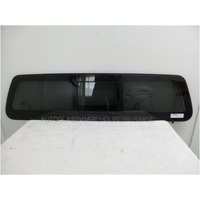 NISSAN NAVARA D23 - NP300 - 3/2015 to CURRENT - 4DR DUAL CAB - REAR WINDSCREEN GLASS - REAR SLIDER ELECTRIC
