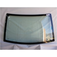 HOLDEN CRUZE JG/JH - 5/2009 TO 12/2016 - 4DR SEDAN - REAR WINDSCREEN GLASS - WITH ANTENNA