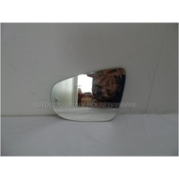 VOLKSWAGEN GOLF VI - 2008 to 2012 - 5DR HATCH - LEFT SIDE MIRROR - FLAT GLASS ONLY - 165mm WIDE X 115mm HIGH