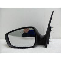 HYUNDAI i30 GD - 5/2012 to 6/2017 - 5DR HATCH -PASSENGERS - LEFT SIDE MIRROR - COMPLETE - 5 WIRES, 12 BLOCK PLUG