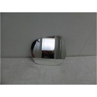 TOYOTA PRADO 150 SERIES - 11/2009 to CURRENT - 3DR/5DR WAGON - LEFT SIDE MIRROR - FLAT GLASS ONLY - 200w X 180h