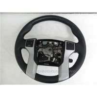 TOYOTA PRADO 150 SERIES - 11/2009 to CURRENT - 5DR WAGON - STEERING WHEEL - CRUISE - RADIO - PHONE
