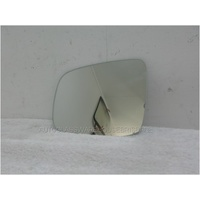 NISSAN X-TRAIL T31 (2) - 10/2007 to 2/2014 - 5DR WAGON - LEFT SIDE MIRROR - FLAT GLASS ONLY - 170mm wide X 135mm high - SUIT 8581 BACKING