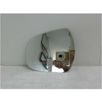 GREAT WALL X240 H3- 10/2009 to 12/2011 - 4DR WAGON (SUV) - LEFT SIDE MIRROR - FLAT GLASS ONLY - 155mm HIGH X 185mm WIDE