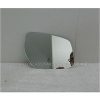 NISSAN PULSAR B17 - 2/2013 to 12/2017 - 4DR SEDAN - DRIVERS - RIGHT SIDE MIRROR - FLAT GLASS ONLY - 185MM ANGLE WIDE X 120MM HIGH