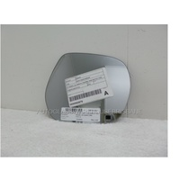 TOYOTA PRADO 150 SERIES - 11/2009 to CURRENT - WAGON - RIGHT SIDE CURVED MIRROR ONLY - 200w X 180h - SUIT BACKING - 8854-SR1400