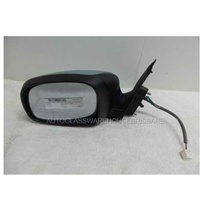 SUZUKI SWIFT RS415 - 1/2005 to 12/2010 - 5DR HATCH - LEFT SIDE MIRROR - COMPLETE - E13-011115