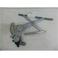 MITSUBISHI TRITON ML/MN - 6/2006 to 4/2015 - UTE - PASSENGERS - LEFT SIDE FRONT WINDOW REGULATOR - ELECTRIC