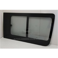 MERCEDES SPRINTER - 9/2006 to CURRENT - RIGHT SIDE FRONT - BONDED SLIDING WINDOW - REAR PIECE SLIDES FORWARD -(NO MESH AVAILABLE)