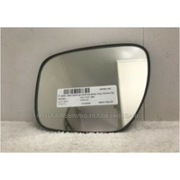 MAZDA CX-7 - 11/2007 to 02/2012 - 5DR WAGON - LEFT SIDE MIRROR - FLAT GLASS ONLY WITH BACKING C235 - 133mm HIGH X 193mm WIDEST ANGLE