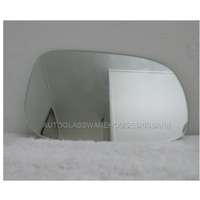 VOLVO C30 & S40 M Series - 10/2007 to 8/2012 - 4DR SEDAN - RIGHT SIDE MIRROR - FLAT GLASS ONLY - 165w X 101h