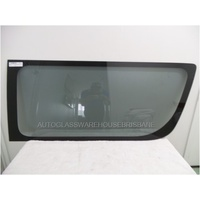 TOYOTA HIACE 220 SERIES - 4/2005 to 4/2019 - COMMUTER BUS - MAXI TAXI - SUPER LWB - RIGHT SIDE FRONT DOOR GLASS - SMALL CERAMIC - GENUINE