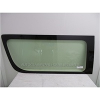 TOYOTA HIACE 220 SERIES - 4/2005 to 4/2019 - COMMUTER BUS - LEFT SIDE SMALL CERAMIC GLASS - GENUINE