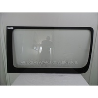 MERCEDES SPRINTER LWB/MWB - 9/2006 to CURRENT - VAN - RIGHT SIDE FRONT BONDED GLASS - CLEAR - 1400w x 770h