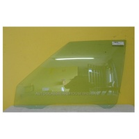 FORD FALCON XD/XE/XF - 1979 to 1988 - SEDAN/UTE/VAN (AUSTRALIA MADE) - PASSENGERS - LEFT SIDE FRONT DOOR GLASS - GREEN