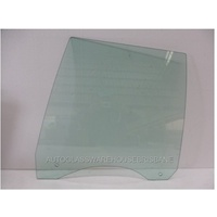 FORD FALCON XD/XE/XF - 1979 to 1988 - 4DR SEDAN (AUSTRALIA MADE) - PASSENGERS - LEFT SIDE REAR DOOR GLASS - GREEN