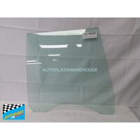 FORD FALCON XD/XE/XF - 1979 to 1988 - 4DR SEDAN (AUSTRALIA MADE) - DRIVERS - RIGHT SIDE REAR DOOR GLASS - GREEN