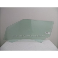 RANGE ROVER EVOQUE L538 - 1/2012 TO CURRENT - 3DR SUV - PASSENGERS - LEFT SIDE FRONT DOOR GLASS - 2 HOLES
