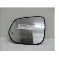 ISUZU D-MAX - 6/2012 ONWARDS - UTE - PASSENGERS - LEFT SIDE MIRROR - FLAT GLASS ONLY - WITH BACKING - 183 X 155 - 9403-SR1400