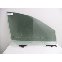 NISSAN PATHFINDER R52 - 10/2013 TO CURRENT - 4DR WAGON - RIGHT SIDE FRONT DOOR GLASS - LAMINATED - GREEN