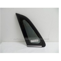 SUBARU IMPREZA G3 - 9/2008 to 1/2012 - 4DR SEDAN - PASSENGERS - LEFT SIDE REAR OPERA GLASS (BEHIND REAR DOOR)