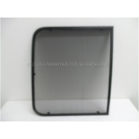 FORD TRANSIT VO - 9/2014 TO CURRENT - VAN - PASSENGERS - SECURITY AND INSECT MESH FOR FRONT SIDE LEFT BONDED SLIDING WINDOW
