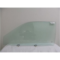 DAIHATSU CHARADE G200/G202 - 5/1993 to 7/2000 - 3DR HATCH - PASSENGERS - LEFT SIDE FRONT DOOR GLASS