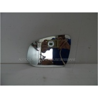 TOYOTA HILUX GGN126-TGN126 - 7/2015 TO CURRENT - UTE - LEFT SIDE MIRROR - FLAT GLASS ONLY - 190mm WIDE X 143mm HIGH