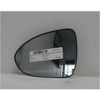 KIA RIO UB - 9/2011 to 12/2016 -5DR HATCH - PASSENGERS - LEFT SIDE MIRROR - BACKING CURVED - 171MM WIDE X 120MM HIGH