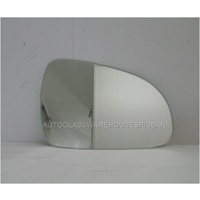 KIA SPORTAGE QL - 10/2015 to CURRENT - 5DR WAGON - RIGHT SIDE MIRROR - FLAT GLASS ONLY - 135mm H  X 205mm WIDE ANGLE