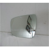 NISSAN X-TRAIL T32 - 3/2014 to CURRENT - 5DR WAGON - LEFT SIDE MIRROR - FLAT GLASS ONLY - 173mm WIDE X 137mm HIGH