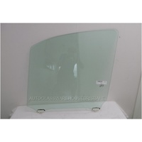 TOYOTA HIACE ZX/ZR SLWB/LWB - 2019 TO CURRENT - VAN - PASSENGERS - LEFT SIDE FRONT DOOR GLASS - WITH FITTING - GREEN